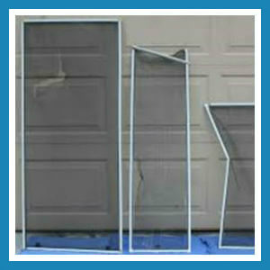 Bent or Broken Screen Frame