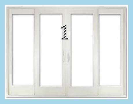 (4) PANEL SLIDING DOOR