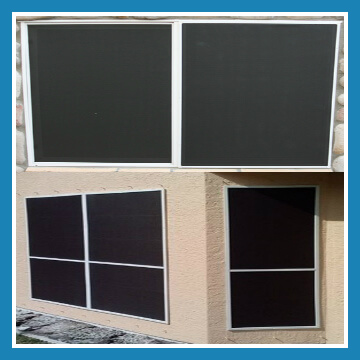Sun/Solar Screens or Pet</br> Screens